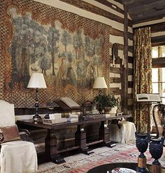 Eye For Design: Decorate With Tapestries And Bring Old World Charm To Your Interiors.