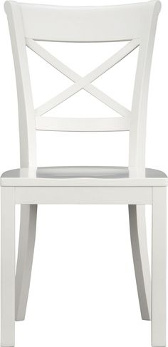 """$149 - Vintner White Side Chair  
