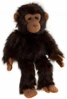 Flitwick Charlie Bears Bearhouse Chimpanzee Monkey Plush Toy