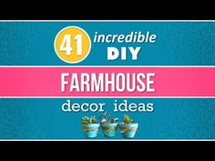 Make vintage looking DIY farmhouse decor with budget-friendly cheap rustic DIY home decor projects. Joanna Gaines crafts to repurposed furniture DYI ideas. Cool Diy, Easy Diy, Sewing Projects, Diy Projects, Furniture Projects, Sewing Machine Thread, Diy Home Repair, Crafts To Make And Sell, Farmhouse Decor