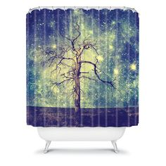 As Old As Time Shower Curtain, $70, now featured on Fab.