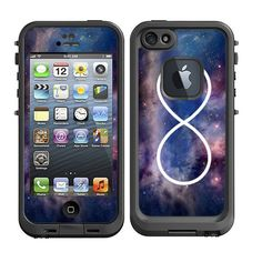 Skins FOR Lifeproof iPhone 5 Case - infinity Galaxy Nebula Colorful Stars - Free Shipping - life proof - Lifeproof Case NOT included on Etsy, $9.95