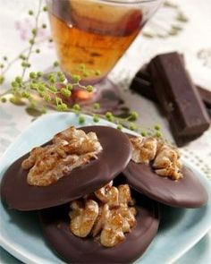 Receta de galletas de chocolate y nueces