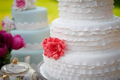 Wedding Cakes made by myself, photograph by Capture It ltd