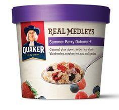 Influenster Holiday VoxBox 2012:   Quaker Real Medleys Summer Berry Oatmeal