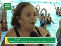 Acquagym en el Natatorio Climatizado Municipal - YouTube