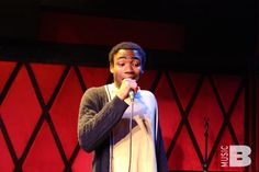 """#TBT to that time Childish Gambino rapped/wrapped his track """"Bonfire"""" for Baeble at Rockwood Music Hall in 2011. Check out our Throwback Thursday for the full cut session: baeble.me/1nqD3Vt"""
