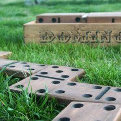 Yard Dominoes & Yardzee - Lawn Games/Outdoor Games by Maydby Outdoor Games, Backyard Games, Outdoor Decor, Outdoor Toys, Giant Yard Games, Garden Games, Outdoor Fun, Outdoor Ideas, Backyard Ideas