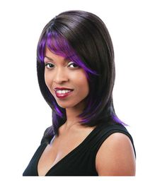 Synthetic long wig by Motown Tress. side skin crown, glamorous and sexy. Delicately layered sipky hair ends. Hair Loss Medication, Side Bangs, Long Wigs, Motown, Medium Long, Synthetic Wigs, African Dress, Hair Pieces, Hair Extensions