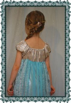 Frozen ispired dress Frozen, Dresses, Fashion, Vestidos, Moda, Fashion Styles, Dress, Fashion Illustrations, Gown