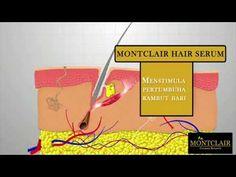 MONTCLAIR HAIR SERUM - Cara mengatasi rambut rontok
