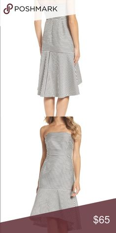 Chelsea28 Strapless Dress Bust: 18 inches flat Waist: 15 inches flat ✨Bundle and Save✨ ✨No offer on items $10 and below ✨ ✨REASONABLE offers welcome✨ 📌Low Ballers will be IGNORED📌 Chelsea28 Dresses Midi