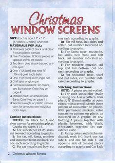 Christmas Window Screens 2