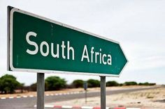 A sign in Botswana pointing out the direction to South Africa. Why not travelling both countries? Beautiful World, Beautiful Places, Simply Beautiful, Sri Lanka, Out Of Africa, African Safari, My Land, Countries Of The World, Cape Town