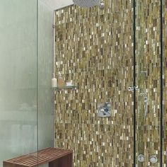 Going for the #gold on this #MosaicMonday with @avenuemosaic's Jazz Fusion #mosaic #glass #tiles! // #architecture #bathroom #design #decor #designhounds #home #homedecor #instaglam #interiors #instalove #interiordesign #idcdesigners #luxury #mosaics #shower #tilelove #tileporn #tilework #tileometry #tiling #tileaddiction #walltile by tileometry