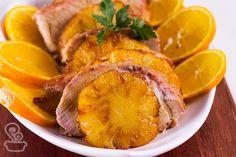 lombinho com abacaxi