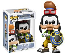 The Toy - POP - Vinyl Figure - Kingdom Hearts - Goofy for sale at best price. Toys, games like Toy - POP - Vinyl Figure - Kingdom Hearts - Goofy for sale and in stock at Retro Gaming Stores. Kingdom Hearts Figures, Kingdom Hearts Characters, Pop Vinyl Figures, Funko Pop Figures, Disney Pop, Disney 2017, Disney Marvel, Disney Stuff, Disney Worlds