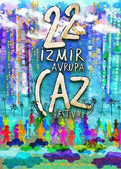 for izmir jazz festival Jazz Festival, Poster Designs, Turkey, Neon Signs, Art, Art Background, Turkey Country, Kunst, Gcse Art