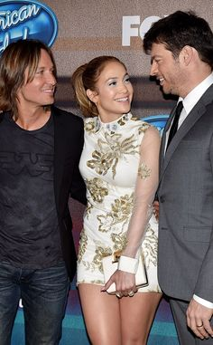 Keith Urban, Jennifer Lopez & Harry Connick Jr. from The Big Picture: Today's Hot Pics | E! Online