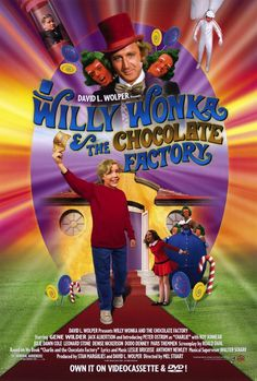 willy wonka and the chocolate factory - original only