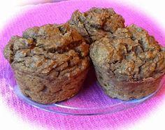 Pink-Vegan: Pumpkin Spice Pecan Muffins (GF)