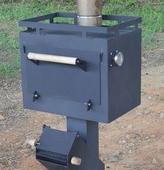 柴燒烤箱 — 多功能火箭爐