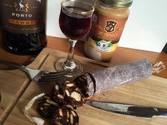 Salame de Chocolate com Cafe Caramello