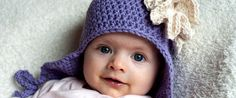 Do you want to knit a bonnet for your child? Check this out!