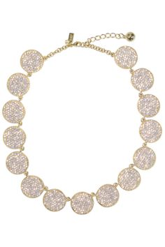 Rent: kate spade new york accessories Gold Bright Spot Necklace $40; RTR