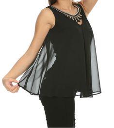 👉🏻Siyah Şifon Hasır Kolyeli Bluz 🏷41,94₺ ℹ️36, 38, 40, 42, 44 bedenleri mevcuttur. 🌏www.anindagiyim.com/urun/siyah-sifon-hasir-kolyeli-bluz ☎️ 0212 438 73 25 ✅ Kapıda Ödeme ✅ Ücretsiz Kargo #moda #giyim #alışveriş #kadıngiyim #stil #trend #fashion #style #siyah #bluz #siyahbluz #kolyelibluz #siyahkolyelibluz #siyahşifonbluz #şifonbluz #clothes #yenisezon #indirim #ücretsizkargo #reddress #model Tops, Women, Fashion, Women's, La Mode, Fashion Illustrations, Fashion Models