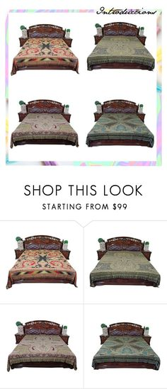 Indian Ethnic Pashmina Bedspreads For Home Decor by baydeals on Polyvore featuring interior, interiors, interior design, home, home decor and interior decorating  http://stores.ebay.com/mogulgallery/BEDSPREADS-/_i.html?_fsub=353416419&_sid=3781319&_trksid=p4634.c0.m322