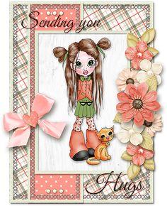 Sending You Hugs - Scrapbook.com