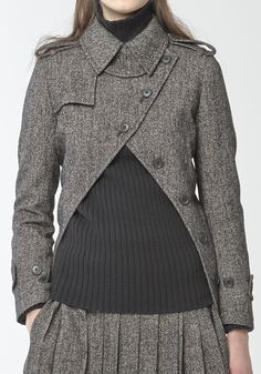 Yohji Yamamoto   AUTUMN / WINTER 2014-2015 REGULATION PARIS COLLECTION