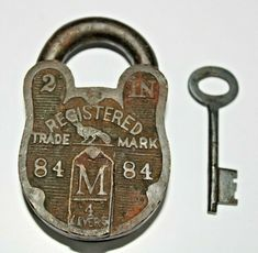 Knobs And Knockers, Padlocks, Keys, Carving, Brass, Shapes, Personalized Items, Antiques