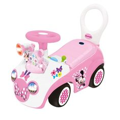 """Minnie Mouse Activity Ride On - Gears - KiddieLand - Toys """"R"""" Us. Minnie Mouse Toys, Baby Mouse, Mini Mouse, Toys R Us, Baby Play, Baby Kids, Play Centre, Ride On Toys, Disney Toys"""