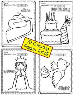 Color For Fun Short and Long Vowel Fun! This post includes some #Free printables! #TPT