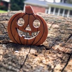 Every box we ship includes a recycled wooden pendant from the wonderful @woodwearbyandrea. This months subscription and all Halloween gift boxes get this cute little jack o' lantern!