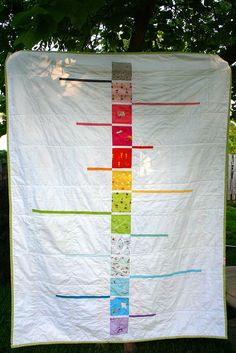 Urban quilting blog; Neverending Story {munki} quilt back by Cara