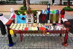 January 2011 / Tokyo / Guerilla Knitting in Japan