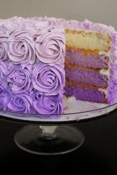 Pretty Cake takes the color Lavender to a new level.