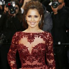 New Arrival Zuhair Murad Evening Gowns Cannes 2014 Mermaid Nude Lace Burgundy Long Sleeves Red Carpet Celebrity Dresses Celebrity Red Carpet, Celebrity Dresses, Celebrity Style, Cheryl Cole, Mermaid Evening Gown, Evening Dresses, Cheryl Ann Tweedy, Zuhair Murad Dresses, Kendall Jenner Style