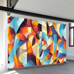 Color Power Wall Mural