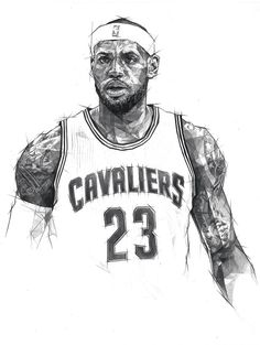 Double Scribble Lebron James. #basketball #lebron-james
