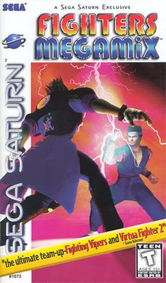 Fighters Megamix - Sega;  developed by AM2 for the Sega Saturn and Game.com. It combines several characters from various Sega games, from the complete cast of Virtua Fighter 2 & Fighting Vipers. Unlike most of AM2's games of the era, Fighters Megamix did not have an arcade release.