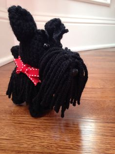 Crochet Scottie dog!