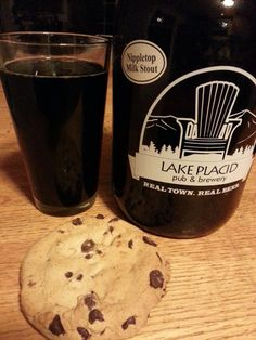 Nipple top stout pairs well w/ fresh baked chocolate chip cookies!