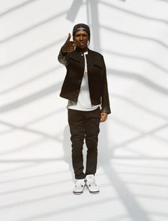 A$AP ROCKY.  He's not usually what inspires me but after reading his life story, it was hard not to be impressed.
