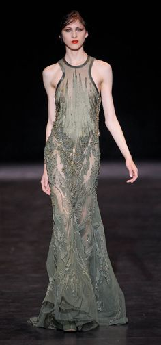 Basil Soda Paris Fashion Week Fall Winter 2013 Haute Couture Collection | #womencollection http://www.sweitrade.net