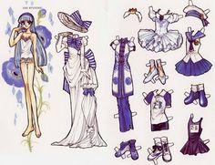 Paper Doll - Guerreiras Mágicas de Rayearth