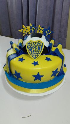 Torta boca Junior s Aldo, Cake, Desserts, Ideas, Motorbike Cake, Tortilla Pie, Sweet Treats, Deserts, Recipes